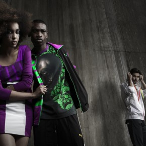 Puma/Kehinde Wiley Fashion Shoot: Afro-Gazing