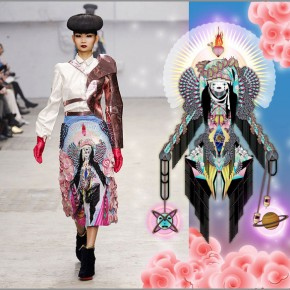 Successful collaboration Manish Arora and Amrei Hofstätter