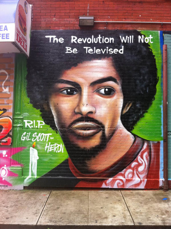 Gil Scott Heron explains the revolution will not be televised