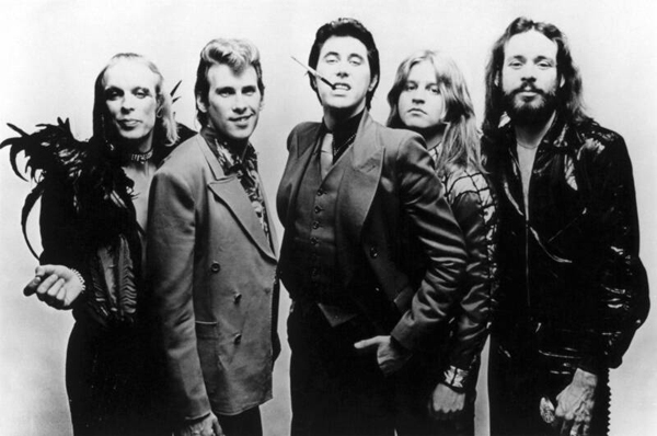Roxy Music with Brian Eno, Andy Mackay, Bryan Ferry, Paul Thompson, Phil Manzanera