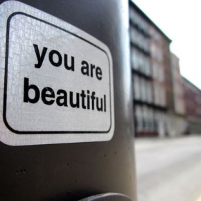 You Are Beautiful - Street Art