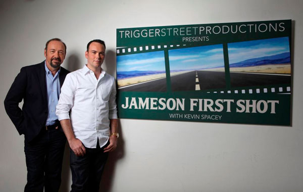 Kevin Spacey & Dana Brunetti, President of Trigger Street Productions