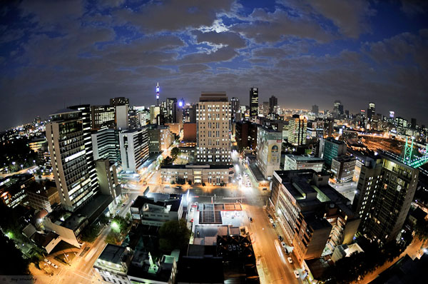 'Above Jozi' by Guy Standley