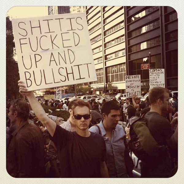 Occupy Musicians, image: pitchfork.com