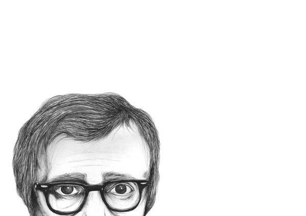 Woody Allen by Cherese Liebenberg