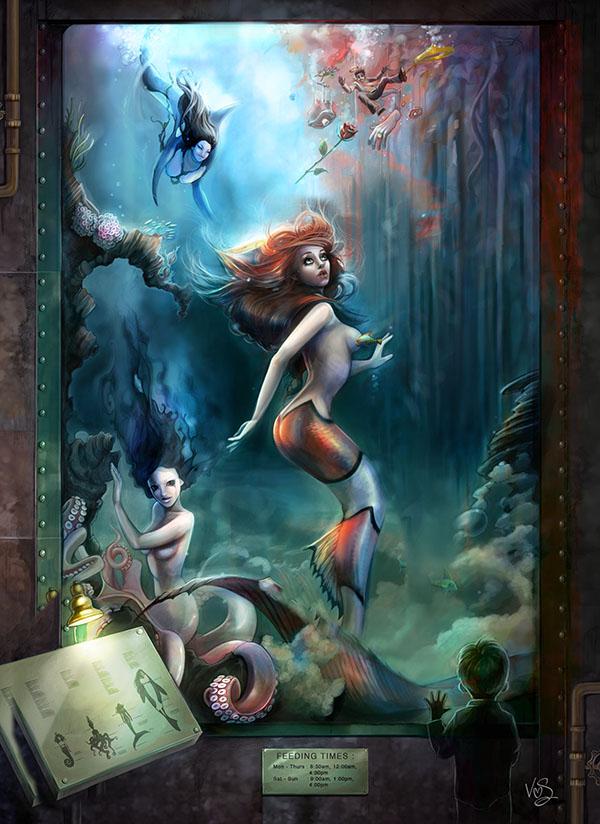 'Ariel' by Caroline Vos