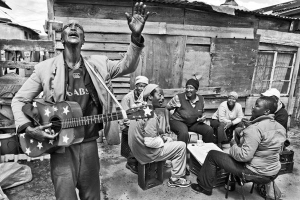 'Makwebu does Elvis' - Saturday's in backyard, Brinton Street