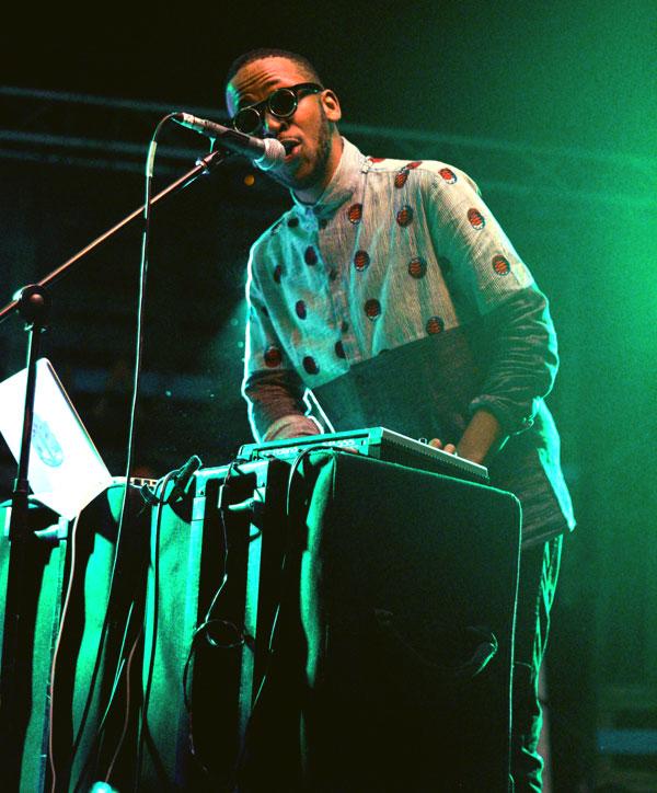 Spoek at CT World Music Festival, image: Loyiso Mzamane