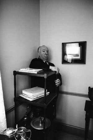 Alfred Hitchcock by Leo Fuchs