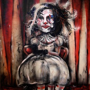 'Circus Girl' by Daniela Sarinski