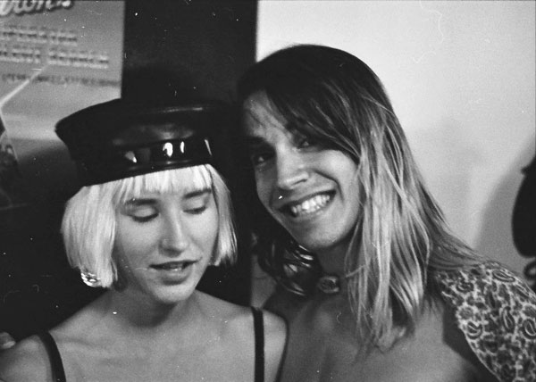 Tori La Vinger and Anthony Kiedis - Image by Jean-Marc Lederman
