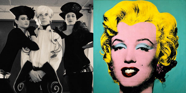Andy Warhol and his Pop Art of Marilyn Monroe