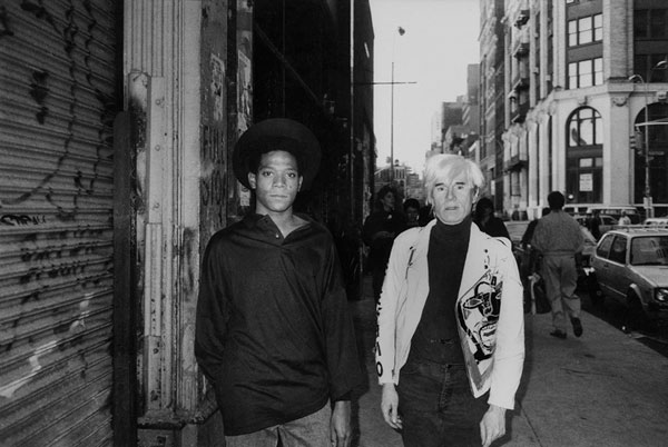 Jean Michel Basqiuat & Andy Warhol by Ricky Powell