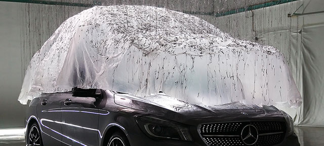 MERCEDES-BENZ | Shaping Air: The CLA as a Sculpture