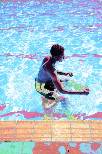 Mthabisi, at the pool by Charles Harry Mackenzie
