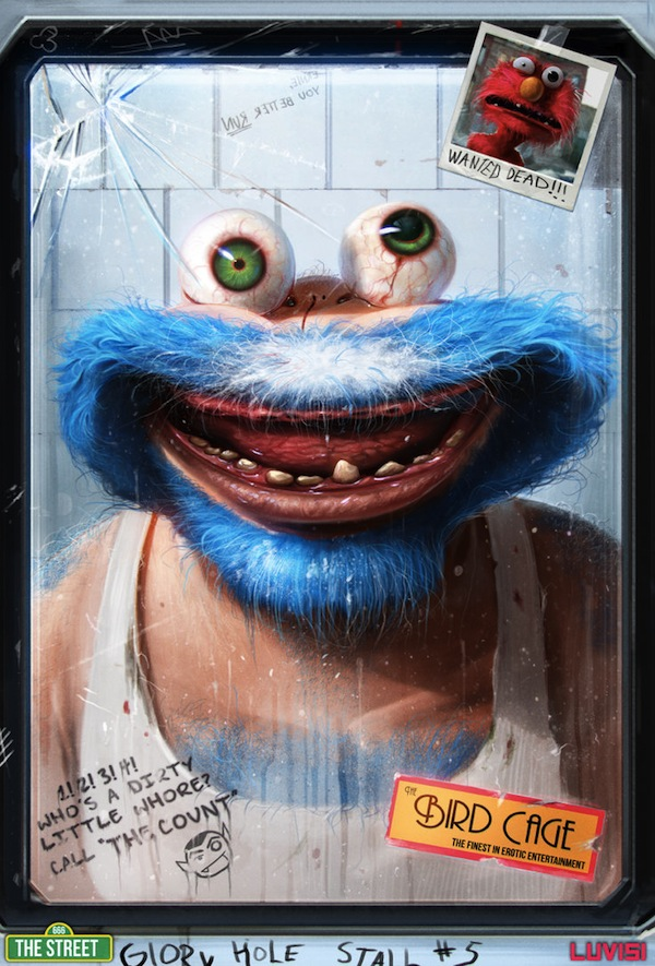 The Cookie Monster by Dan Luvisi