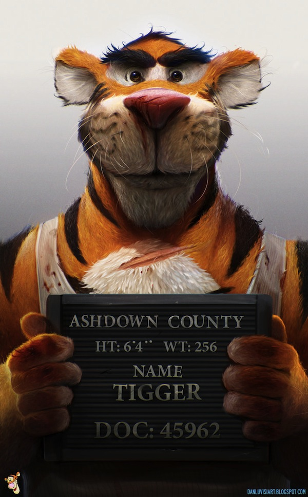 Tigger Pulled the Trigger by Dan LuVisi