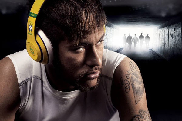 Neymar for Beats by Dr. Dre