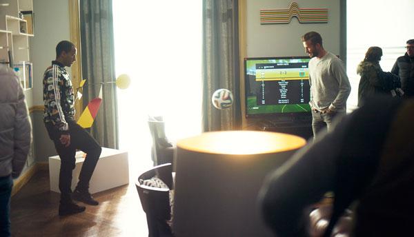 House Match ft. Beckham, Zidane, Bale and Lucas Moura