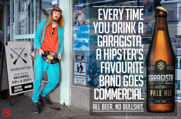 Anti hipster ads