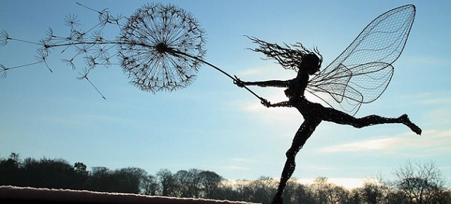 Theatrical Art: Dramatic Sculptures of Dancing Faeries