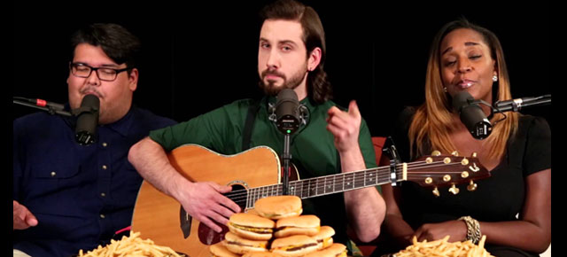 Doubling the Bass: Watch Avi Kaplan's Cover of Meghan Trainor's 'All About That Bass'