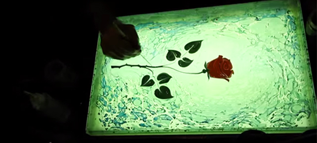 FILMING DROPS OF INK IN WATER TURN INTO MIND-BLOWING ART!