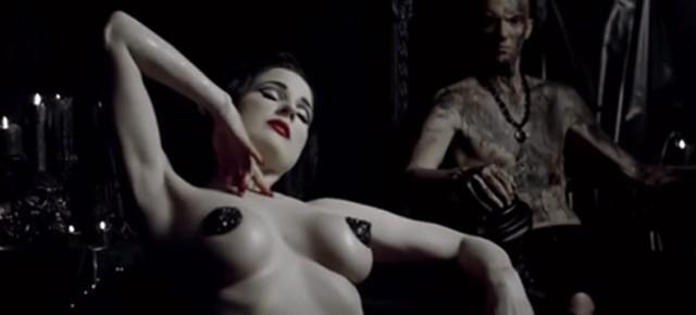 Die Antwoord's #uglyboy features: Cara Delevingne, Marilyn Manson, Flea & Dita Von Teese