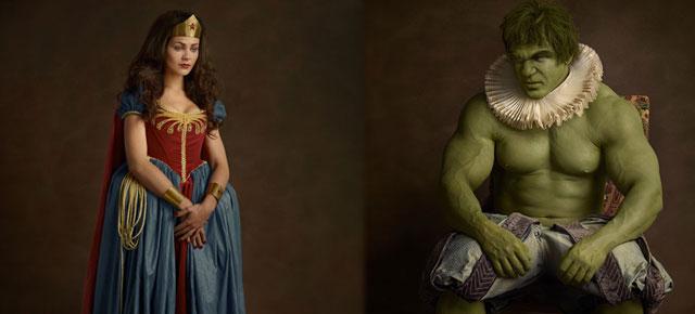 #SUPERFLEMISH: SUPERHEROES & SUPERVILLAINS fashioned in 16th Century Aristocratic attire