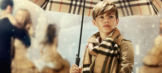 Romeo Beckham gets paid £45 000 to $tar in Burberry Campaign