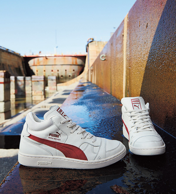 closer at cheap sale fashion style of 2019 The Classic Boris Becker OG Reawakens PUMA's Tennis Heritage ...